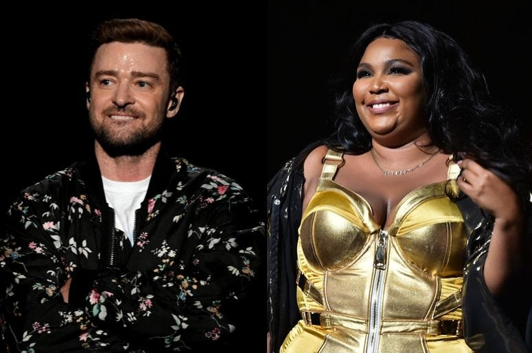 Justin Timberlake and Lizzo Is Happening and It's 'Flames'