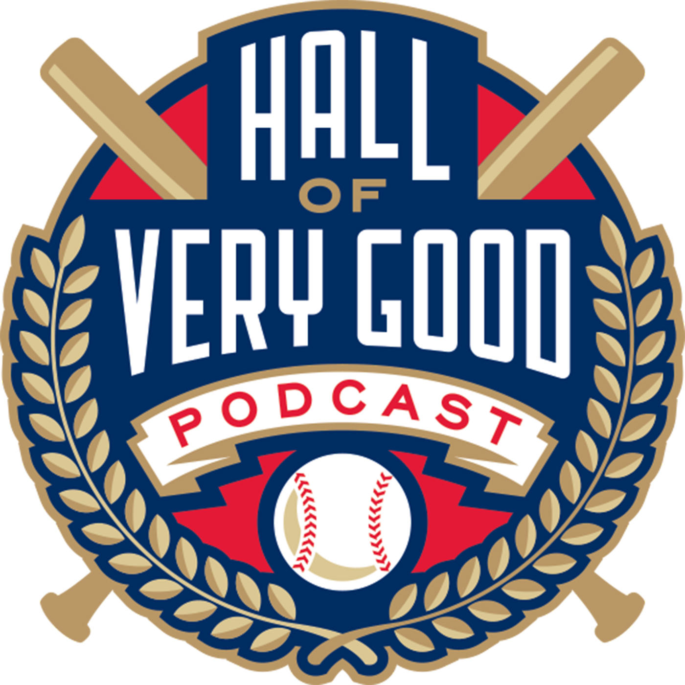 The Hall of Very Good Podcast Logo
