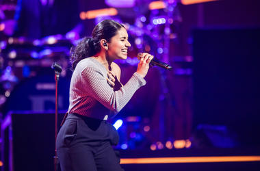 Recording Artist Alessia Cara performs onstage during 60th Annual GRAMMY Awards