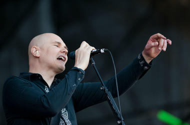 Billy Corgan of the Smashing Pumpkins
