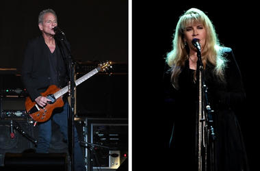 Lindsey Buckingham and Stevie Nicks