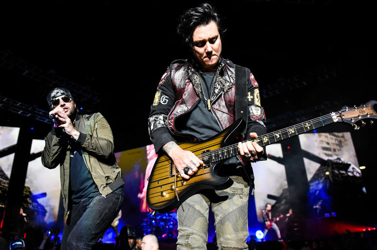M Shadows And Synyster Gates Of Avenged Sevenfold