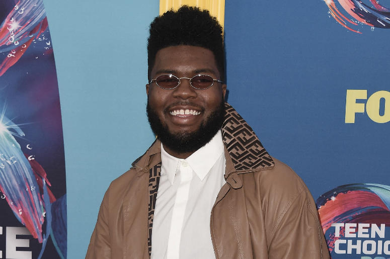 "Khalid at FOX's ""Teen Choice 2018"" at The Forum on August 12, 2018 in Los Angeles, California."