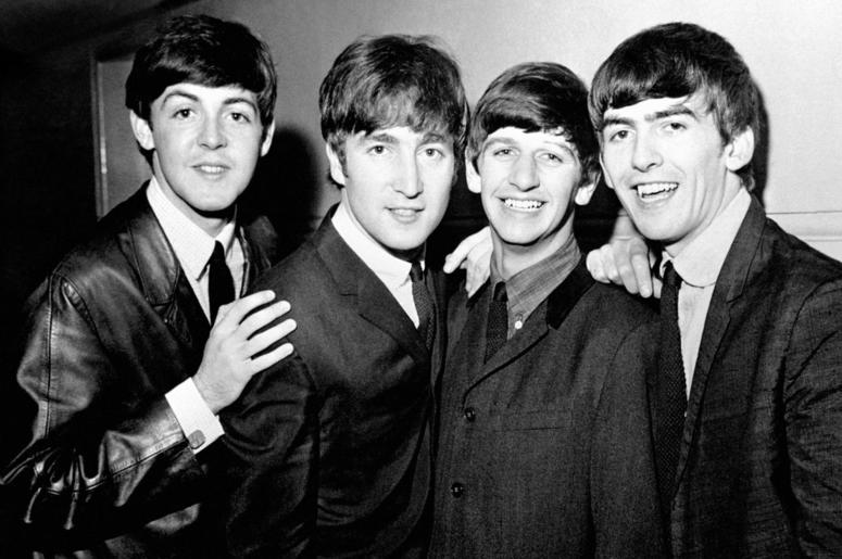 Paul McCartney John Lennon Ringo Starr And George Harrison