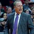 Michigan State coach Tom Izzo paces the sideline during the first round of the 2019 NCAA Tournament.