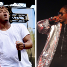 Juice Wrld performs onstage during the 2018 Made In America Festival - Day 1 at Benjamin Franklin Parkway on September 1, 2018 in Philadelphia, Pennsylvania. Future performing on stage at the Philipp Plein fashion show during New York Fashion Week: The Sh