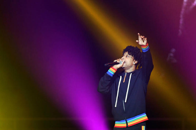 21 Savage performs for the first time since his ICE detention