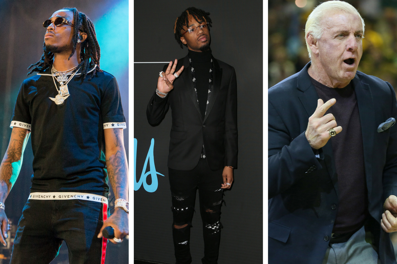 Offset, Metro Boomin, Ric Flair
