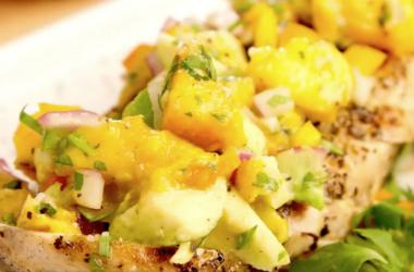 Food channel 989 the buzz recipe fresh garden peach salsa forumfinder Gallery