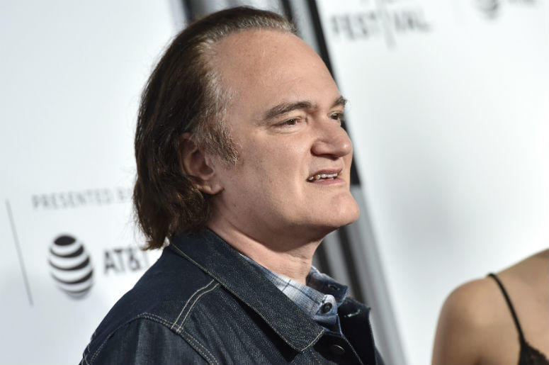 """Director Quentin Tarantino attends the 25th Anniversary Retrospective Screening of """"Resevoir Dogs"""" at the Beacon Theatre during the 2017 Tribeca Film Festival in New York, NY, on April 28, 2017"""