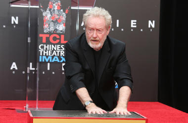 Sir Ridley Scott Hand And Footprint Ceremony