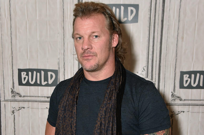 Build Presents Chris Jericho Discussing His New Book 'No Is a Four-Letter Word' at Build Studio on August 28, 2017 in New York City.