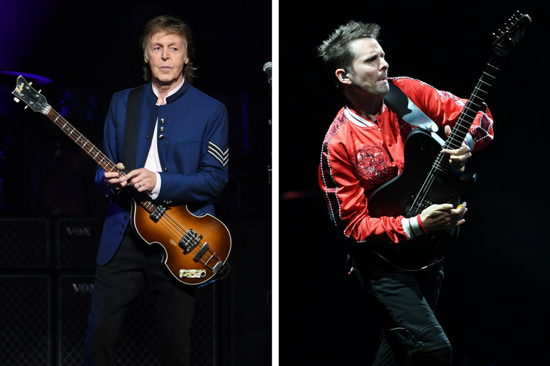 Paul McCartney Joins Muse Members For \