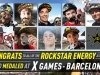 Rockstar Athletes Podium at X Games Barcelona