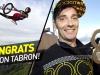 Simon Tabron Wins Silver in BMX Vert at X Games Barcelona