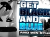 Punched Blue Raspberry 'Get Black & Blue' Sweepstake