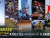 Rockstar Athletes Medal at X Games Los Angeles