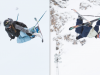 Maddie Bowman & Mike Riddle Podium at Visa U.S. Freeskiing Grand Prix in Breckenridge