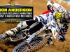 Jason Anderson on the Podium at Hangtown