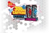 New XDURANCE with 300MG Caffeine + Creatine