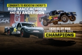 Congrats to LOORRS Champions MacCachren and Anderson