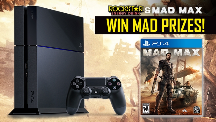 ROCKSTAR & IBS MAD MAX CONTEST