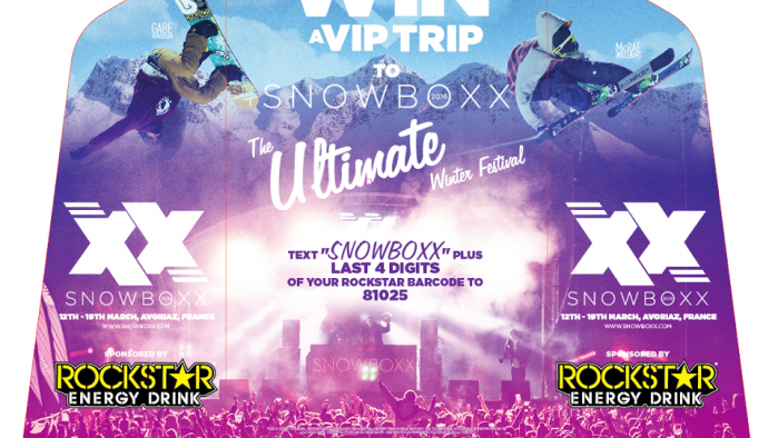 ASDA - SNOWBOXX SWEEPSTAKE