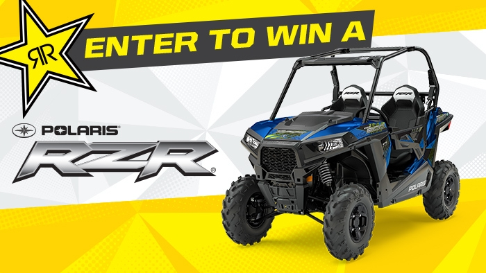 ROCKSTAR & QT POLARIS SWEEPSTAKES