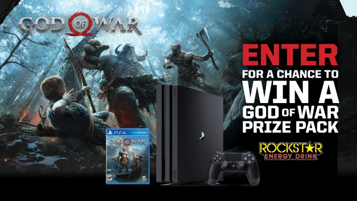 ROCKSTAR AND LOVES GOD OF WAR SWEEPSTAKES