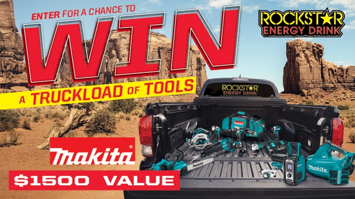 ROCKSTAR & PIGGLY WIGGLY MAKITA SWEEPSTAKES