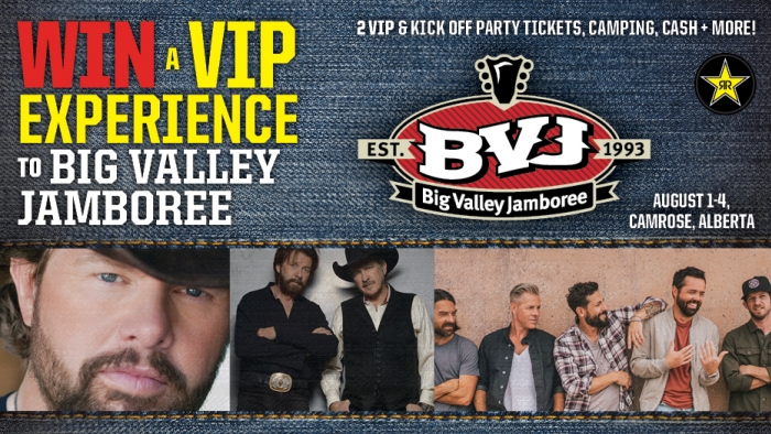 ROCKSTAR & CIRCLE K BIG VALLEY JAMBOREE CONTEST