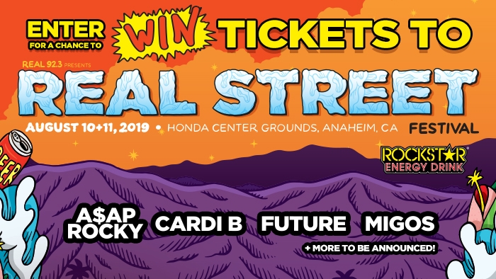 ROCKSTAR & CAR ENTERPRISES REAL STREET FESTIVAL SWEEPSTAKES