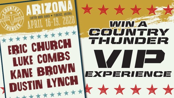 ROCKSTAR & CIRCLE K COUNTRY THUNDER SWEEPSTAKES