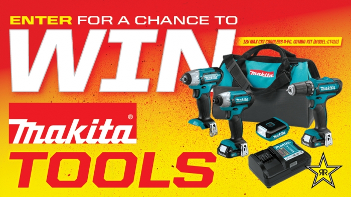 ROCKSTAR & CIRCLE K MAKITA SWEEPSTAKES
