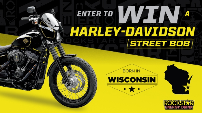 ROCKSTAR BORN IN WISCONSIN SWEEPSTAKES
