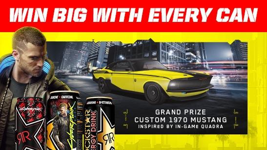 Rockstar Energy Drink & Cyberpunk 2077 Sweepstakes