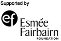 Supported by Esmee Fairburn Foundation