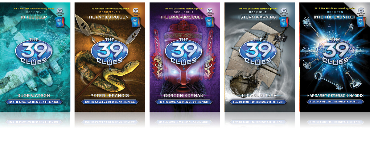 The 39 Clues: Book Covers