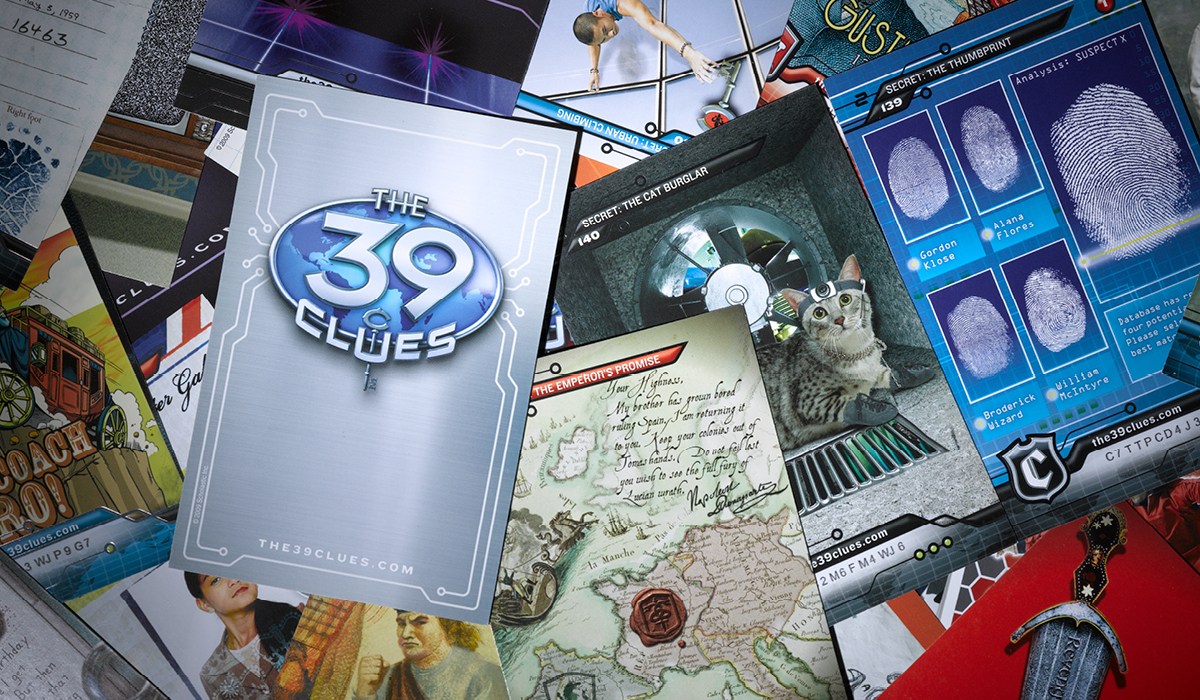 The 39 Clues: Packaging