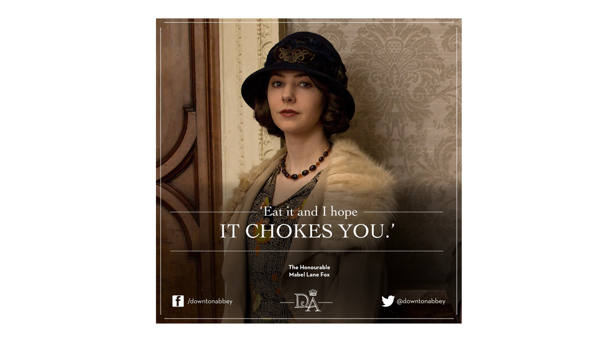 NBCU Downton Abbey Characters