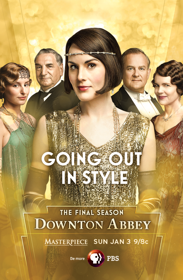 Downton Abbey Season 6 Poster