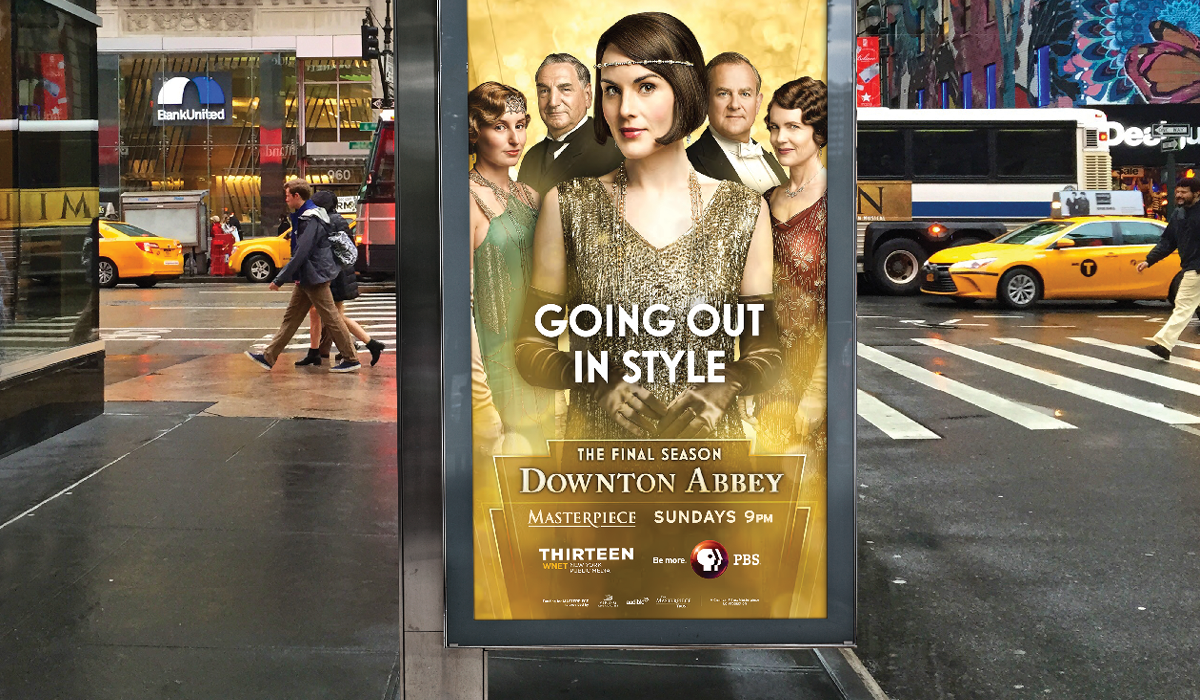 Downton Abbey Season 6 Out-of-home