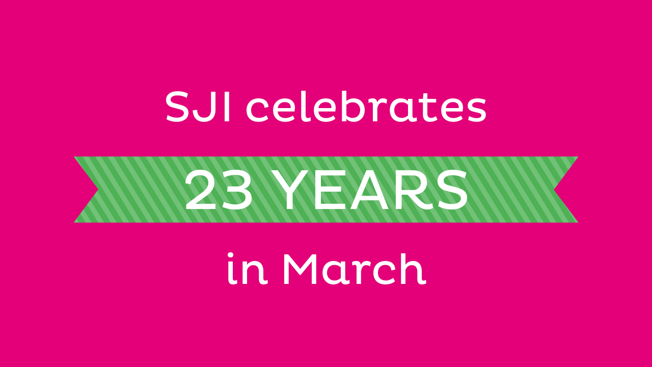 SJI celebrates 23 Years in March