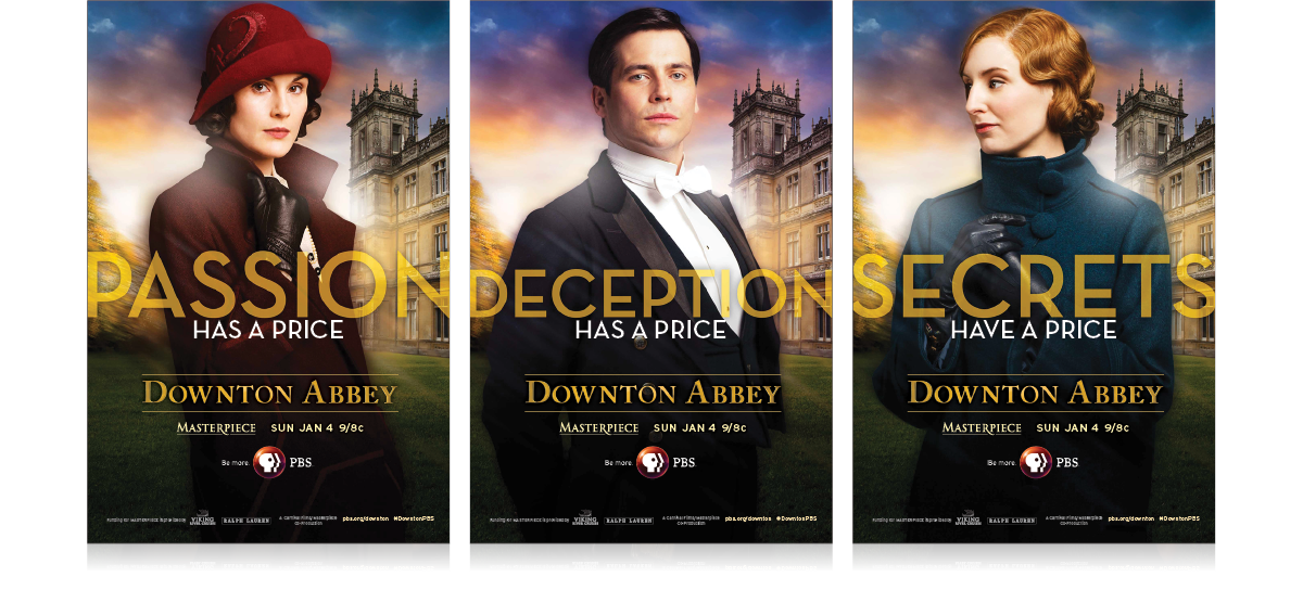 Downton Abbey Season 5 Character Poster
