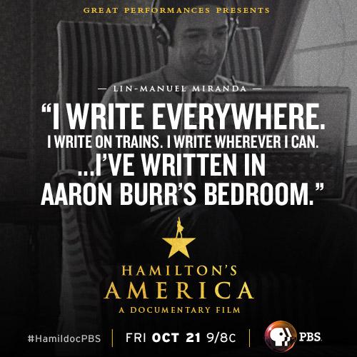 Hamiltons America Social Media