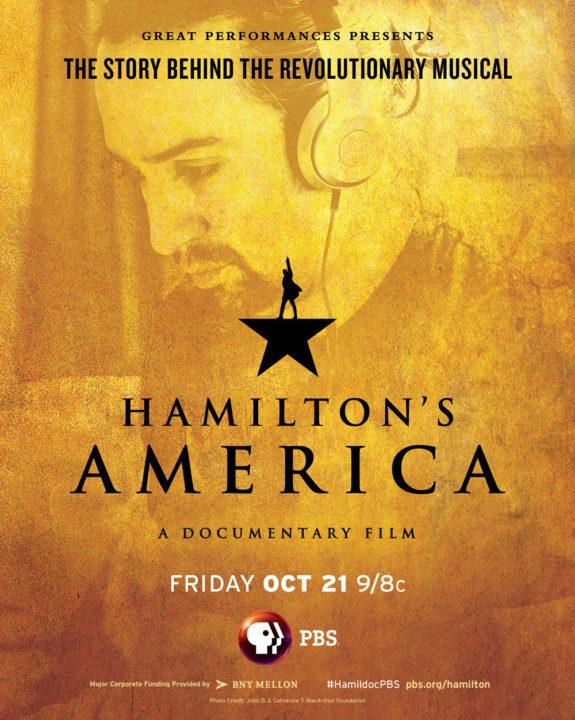 Hamilton's America Poster