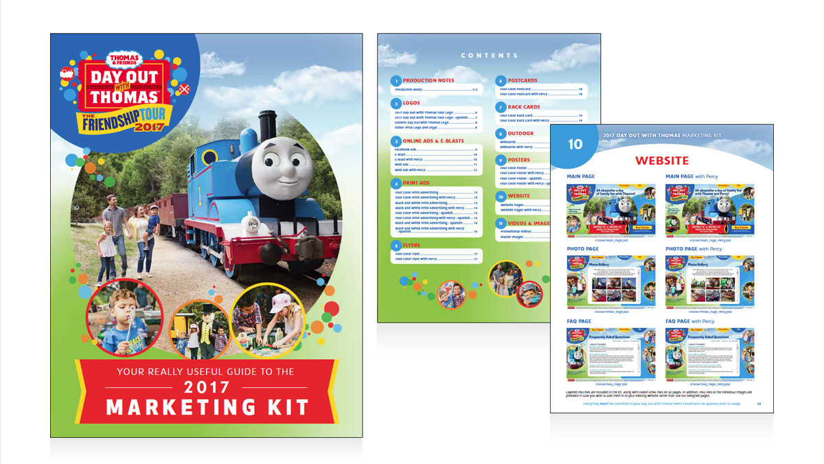 Helping Thomas the Tank Engine Set Friendship in Motion