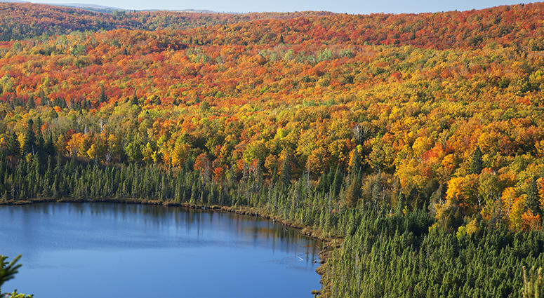 Oberg Lake in northern Minnesota