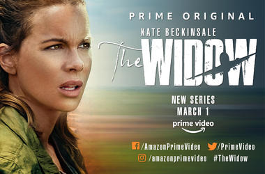 Kate Beckinsale in the The Widow on Amazon Prime