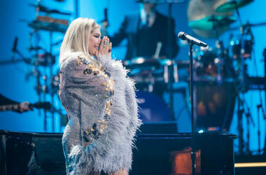 Recording Artist Kesha performs onstage during 60th Annual GRAMMY Awards - I'm Still Standing: A GRAMMY Salute To Elton John at the Theater at Madison Square Garden on January 30, 2018 in New York City.